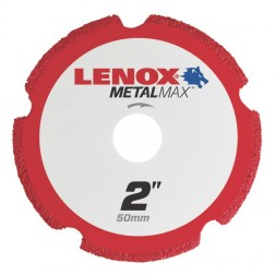 "Lenox METALMAX Cut-Off Wheel - 2"" Diameter, .050"" Thickness, ⅜"" Arbor, 1972917"