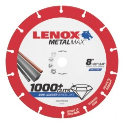 "Lenox METALMAX Cut-Off Wheel - 8"" Diameter, .060"" Thickness, ⅝"" Arbor, 1972925"