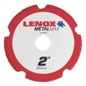 "Lenox METALMAX Cut-Off Wheel - 2"" Diameter, .050"" Thickness, 3/8"" Arbor, 1972917"