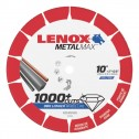 "Lenox METALMAX Cut-Off Wheel - 10"" Diameter, .100"" Thickness, 5/8"" Arbor, 1972926"